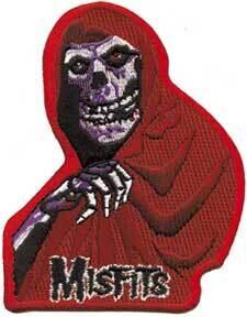 Misfits Red Fiend Patch