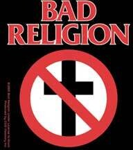 Bad Religion No Cross Sticker