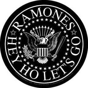 Ramones Black Eagle Sticker