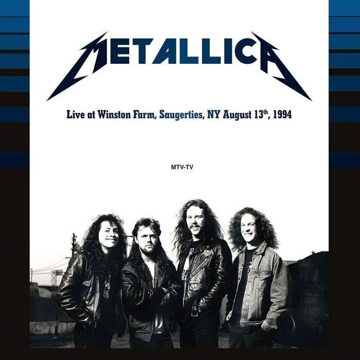 Metallica / Live At Winston Farm Saugerties NY Aug 13 1994