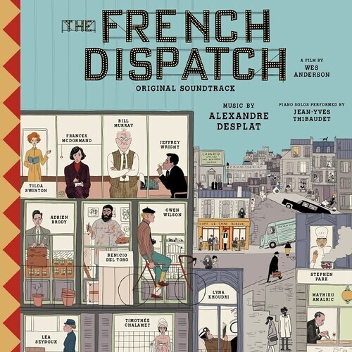 The French Dispatch OST PRE ORDER