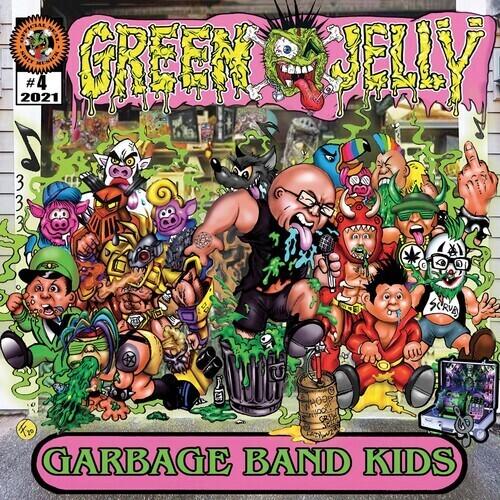 Green Jelly / Garbage Band (Green & Yellow Splatter Vinyl)