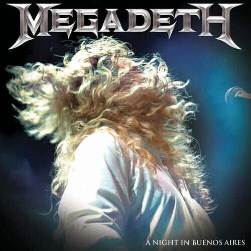 Megadeth / A Night In Buenos Aires (Red Vinyl) PRE ORDER
