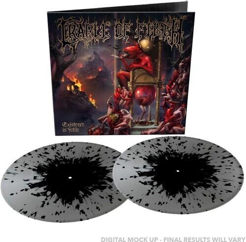 Cradle Of Filth / Existence Is Futile (Silver & Black Splatter Vinyl) PRE ORDER