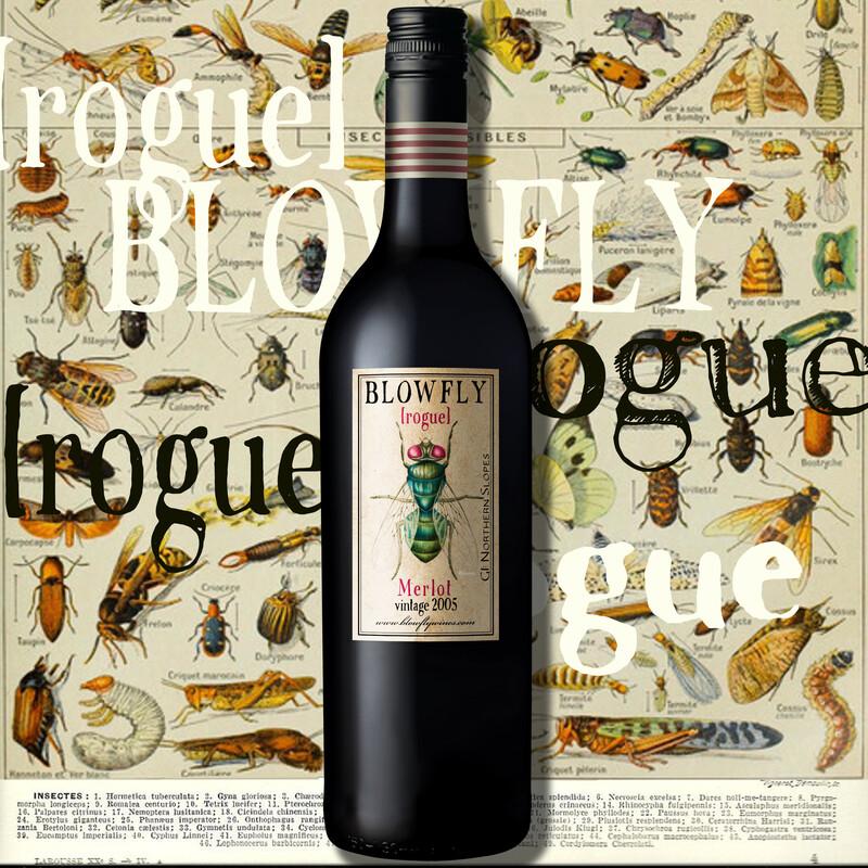 BLOWFLY [rogue] Merlot 2005  ⓺