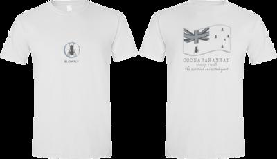 Blowfly T-shirt (flag '15) White