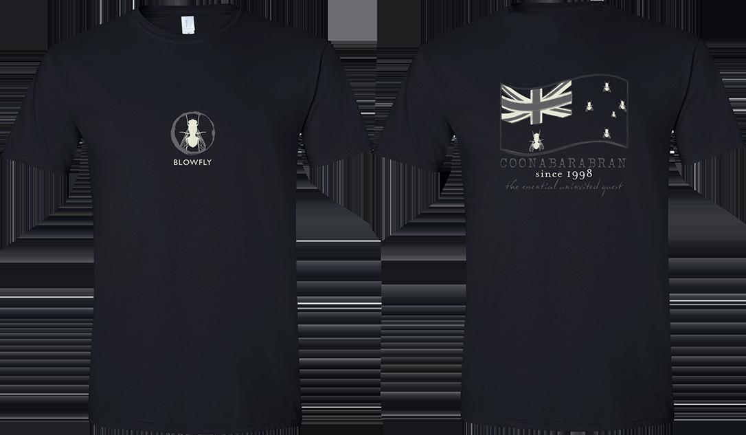 Blowfly T-shirt (flag '15) Black