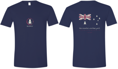 Blowfly T-shirt (flag '15) Navy Blue