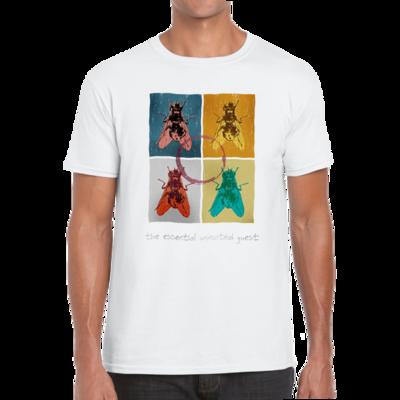 Blowfly T-shirt (warhol) white