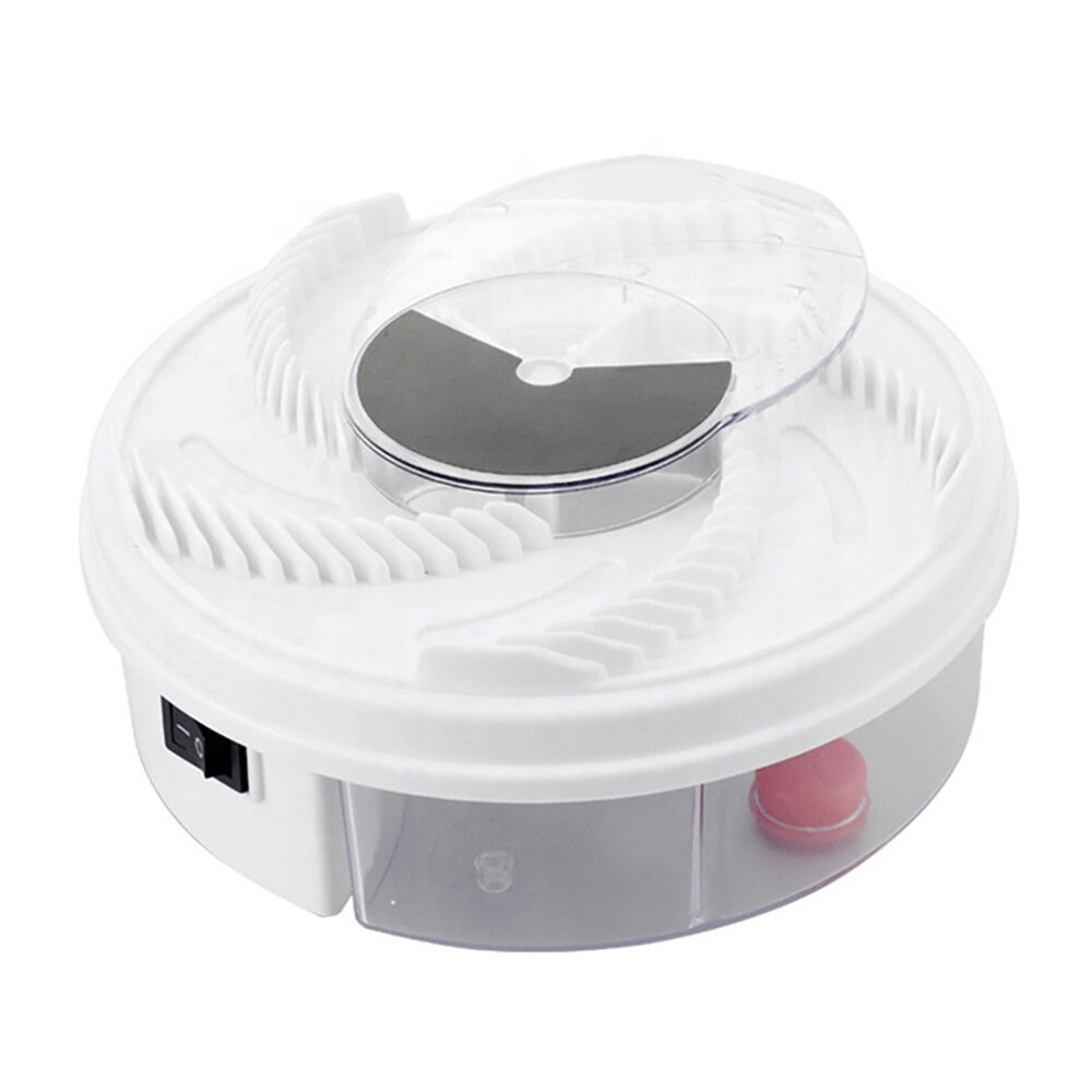 Rotating Electric Indoor Fly Trap Catcher