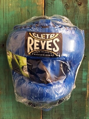 Cabezal Cleto Reyes Azul Tradicional Barra