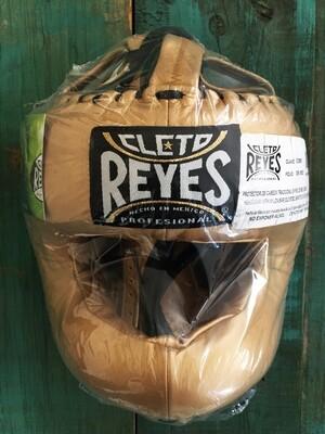 Cabezal Cleto Reyes Dorado Tradicional Barra