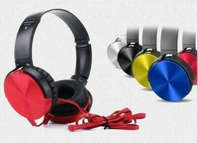 RSFuture MDR-XB450AP On-Ear Extra BASS Headphones with Mic