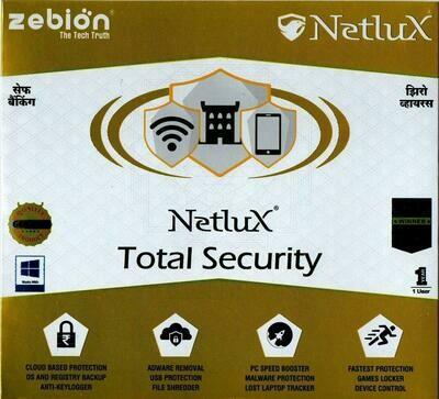 Netlux Anti Virus - Total PROTECTION - 1 User 1 Year
