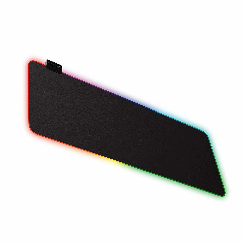 Zebronics Zeb-Blaze XL RGB Gaming Mouse Pad with Micro Weave Texture, 13 RGB Modes, Anti Slip Rubber Base (800x300mm)
