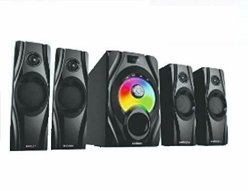 Zebion Classic 4.1 Speaker 125 W Bluetooth Home Theatre (Black, 4.1 Channel)