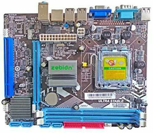 ZEBION H61 Mother Board for Core i3 & Core i5 Processor