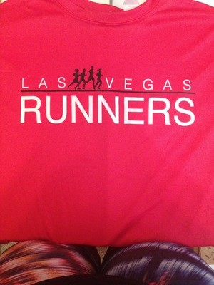 Las Vegas Runners Red T-shirt