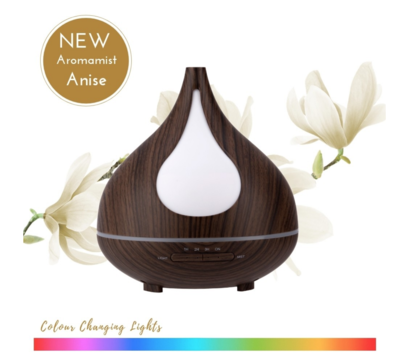 Aromatherapy Ultrasonic Mist Diffuser -Colour Changing Lights RRP$95.00 BPA FREE