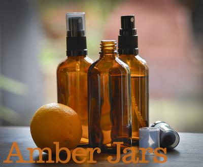 70 x 100ml Amber Glass Bottle with Fine Mist Spray - Aromatherapy Spray