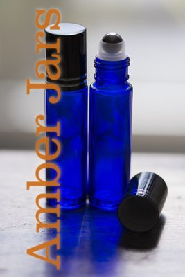 144 x 10ml Blue glass Roller ball Bottle Stainless Steel Ball - Wholesale Aromatherapy