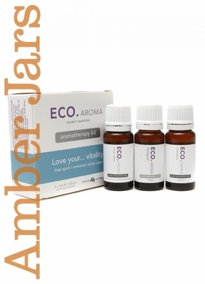 Eco Aroma Pure Essential Oil - Love your.....vitality aromatherapy kit