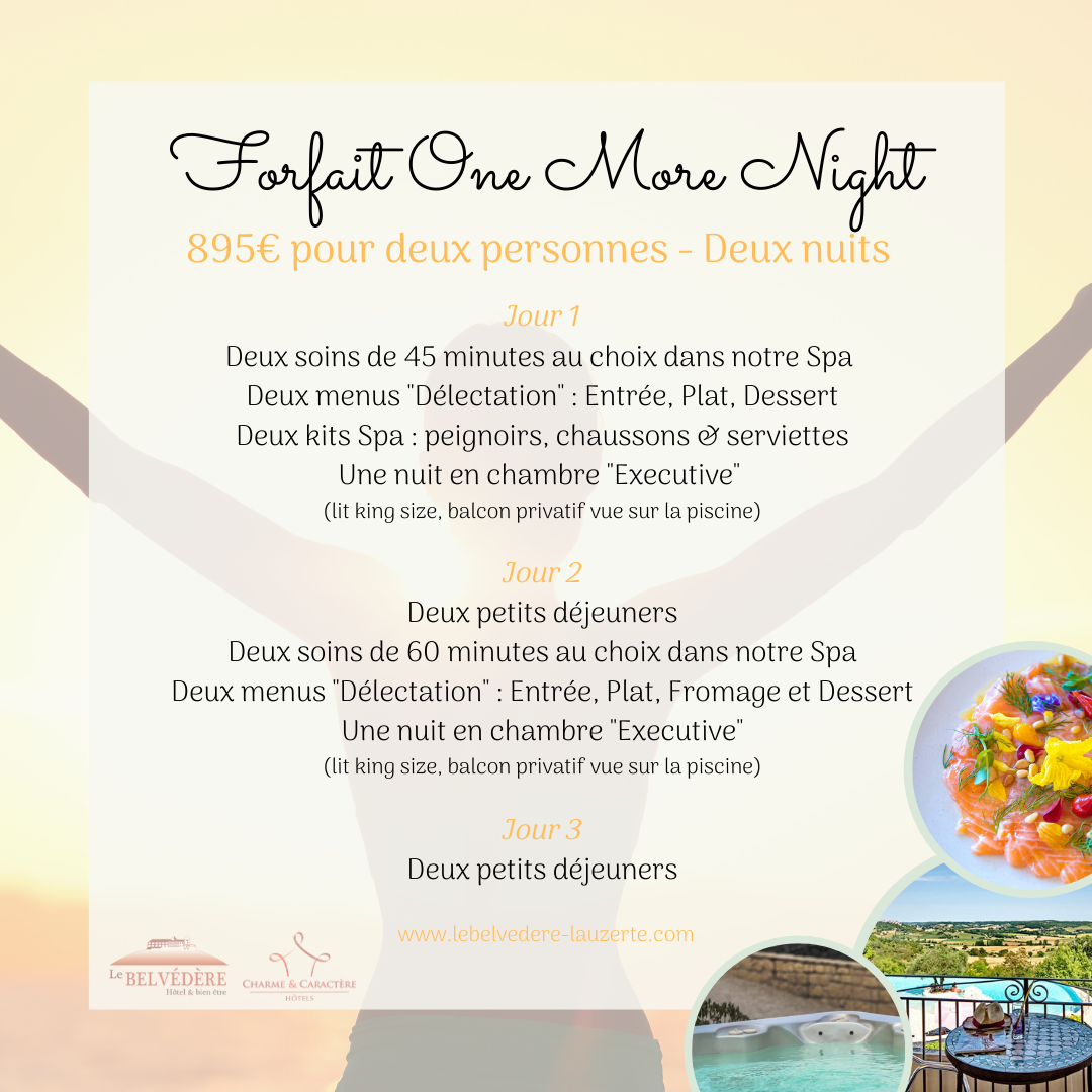 "Forfait ""One More Night"""