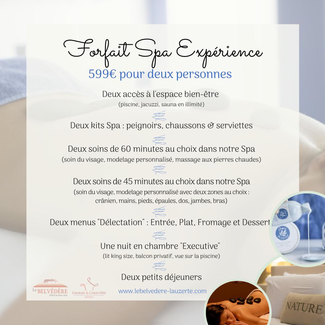 """Forfait """"Spa Expériences"""""""