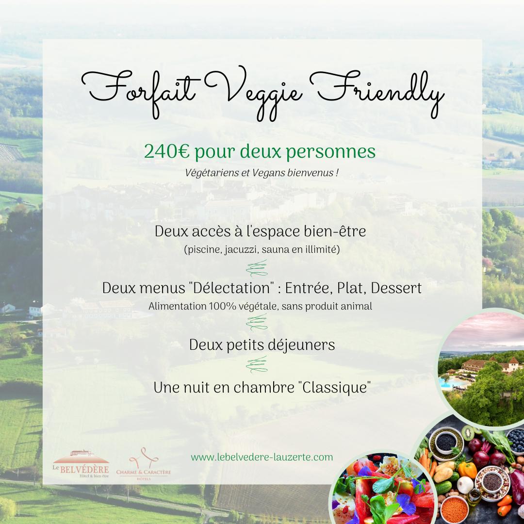 "Forfait ""Veggie Friendly"""