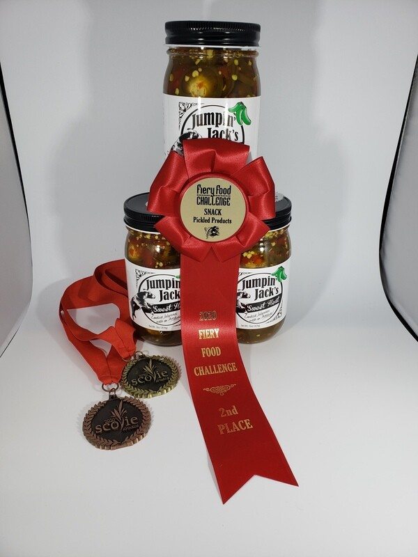 Jumpin' Jack's Candied Jalapenos