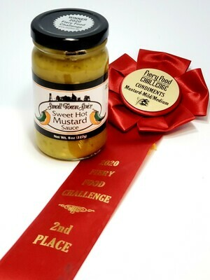 Small Town Spice Sweet Hot Mustard Sauce