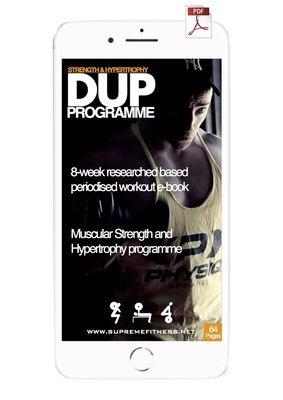 8 Week DUP Programme