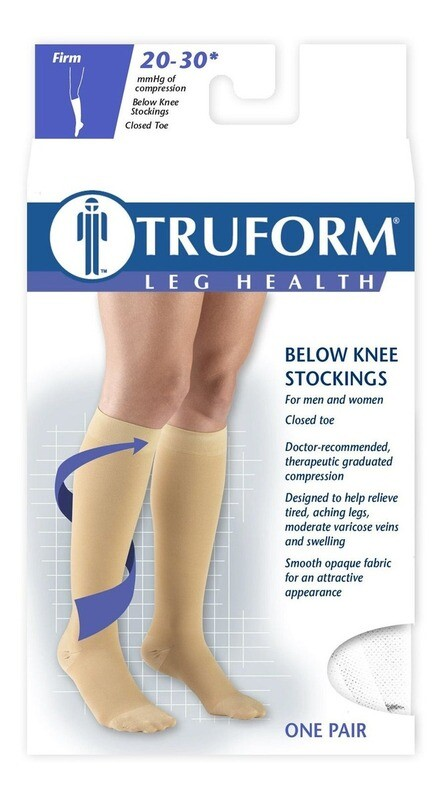 Compression Socks TRUFORM 20-30mmHg Knee High