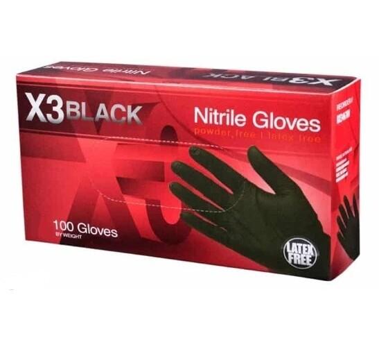 GLoves X3 Black Nitrile