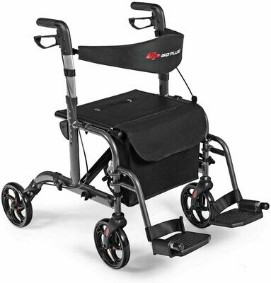 Rollator/Transport Chair  2 in 1