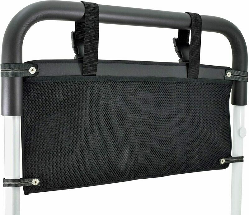 Bed Rail Storage Pouch Accessory