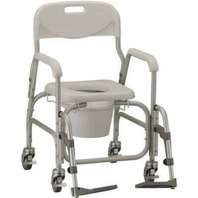 Commode and Shower Chair Dlux (NOVA)