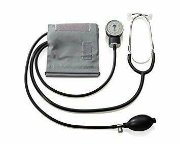 Blood Pressure Kit with Attached Stethoscope