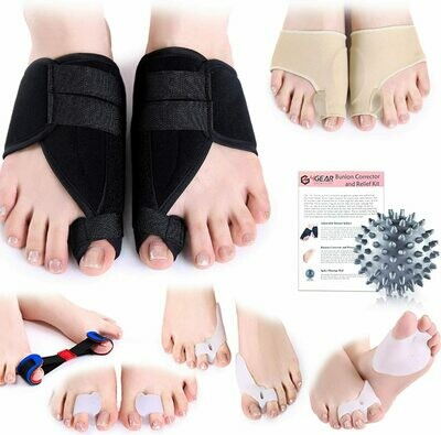 Bunion Corrector and Relief Kit