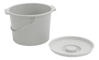 Commode Bucket with Lid and Handle