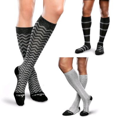 Compression Support Socks by Therafirm