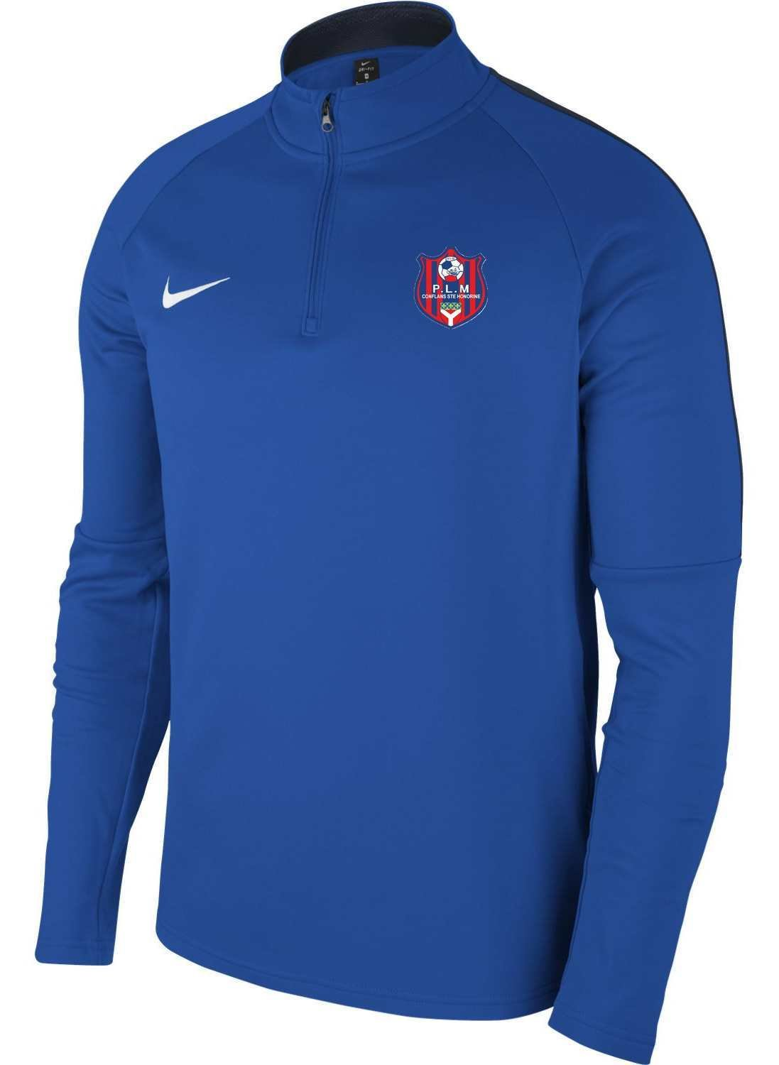 SWEAT 1/2 ZIP AC18 ADULTE NIKE PLM CONFLANS