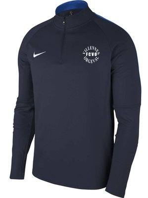 Sweat 1/2 zip AC18 adulte NIKE villennes football