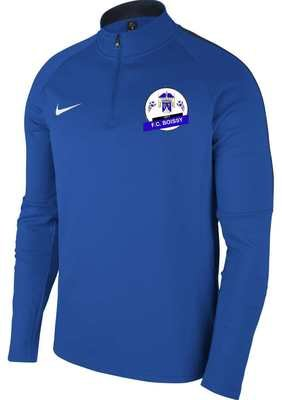 SWEAT DEMI ZIP AC18 ADULTE NIKE FC BOISSY FOOTBALL