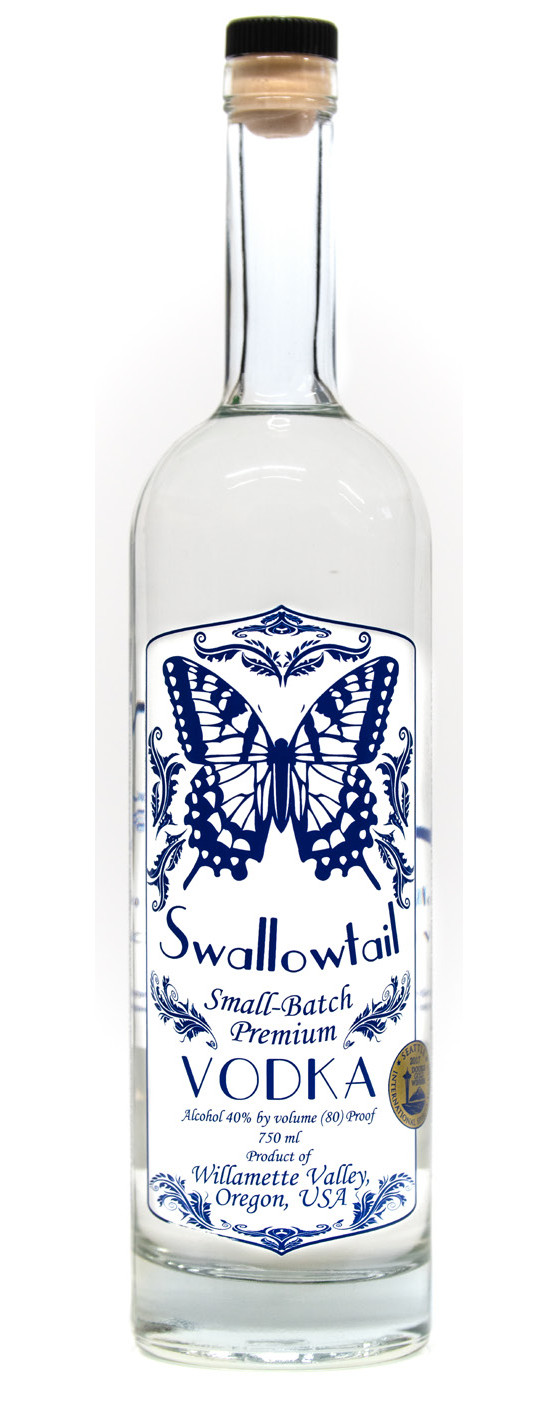 Swallowtail Spirits Small-Batch Premium Vodka