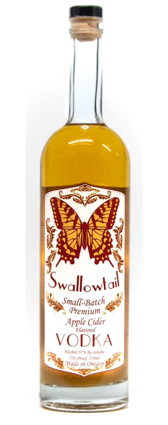 Swallowtail Spirits Small-Batch Premium Apple Cider Flavored Vodka