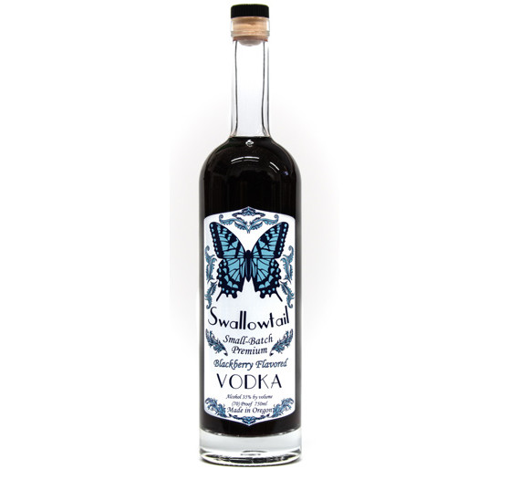 Swallowtail Small-Batch Premium Blackberry Flavored Vodka
