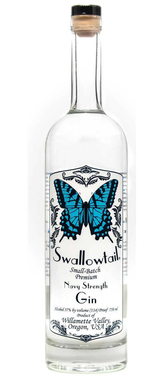 Swallowtail Small-Batch Premium Navy Strength Gin
