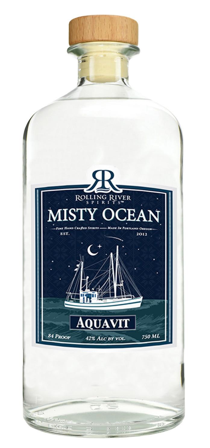 Rolling River Spirits Misty Ocean Aquavit