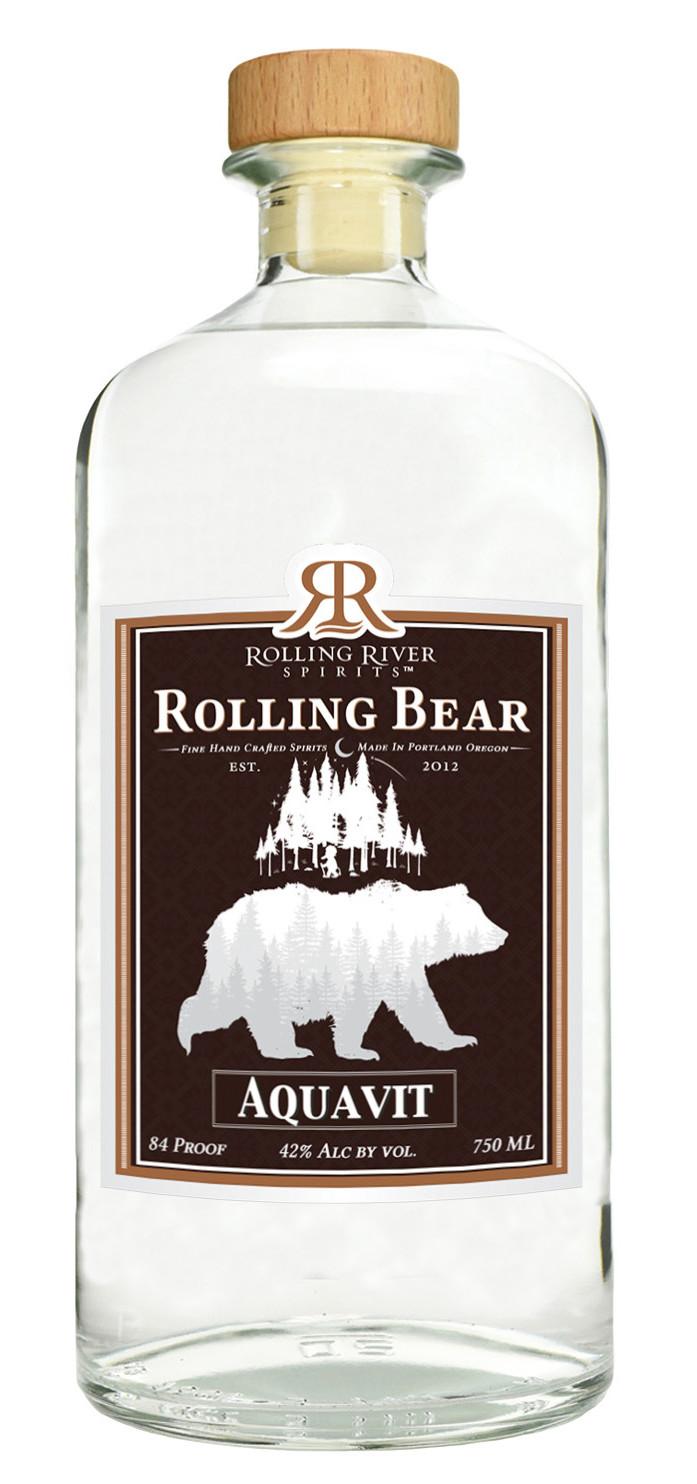 Rolling River Spirits Rolling Bear Aquavit